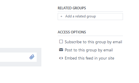 Post to this group by email in Yammer