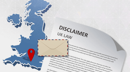 UK email disclaimer law