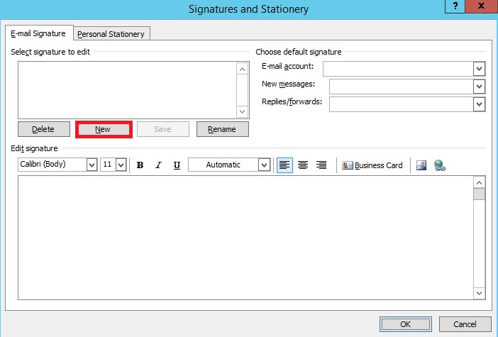 Add a Signature to Outlook 2007 | Email Signature Handbook