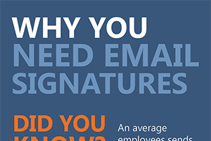 Infographic - why you need email signatures
