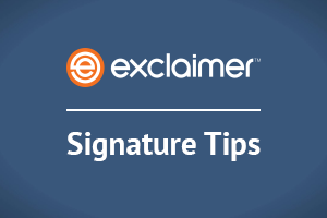 Top 10 email signature branding tips
